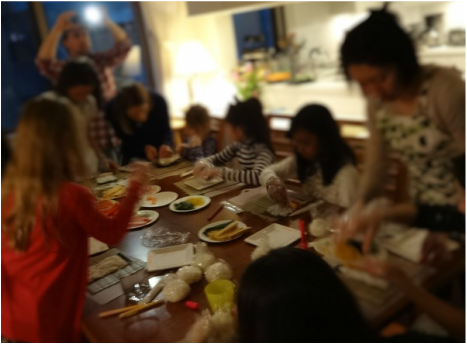 Sushi Party for Kids